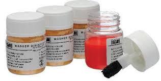 Test af vaskeeffektivitet - soil test